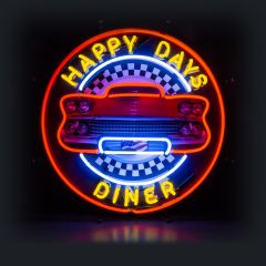 Neon - Happy Days Diner