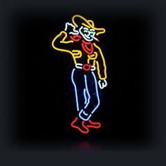 Neon - Las Vegas Cowboy Vic