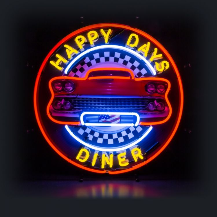 Neon - Happy Days Diner