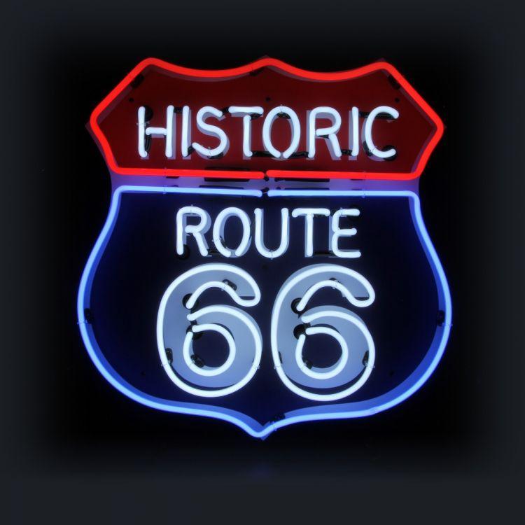 Neon - Route 66