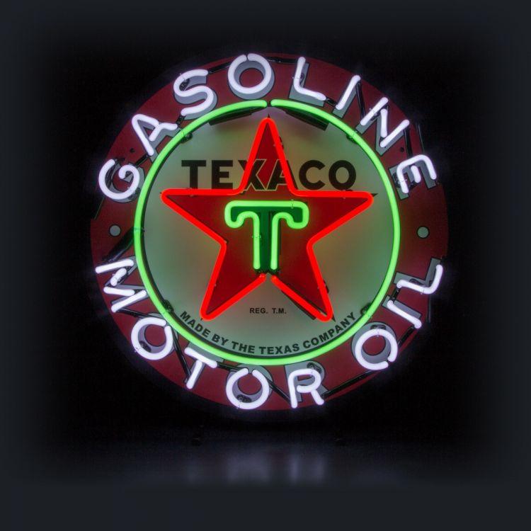 Neon - Texaco Motor Oil