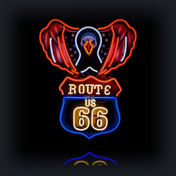 Neon-USA Eagle Route 66