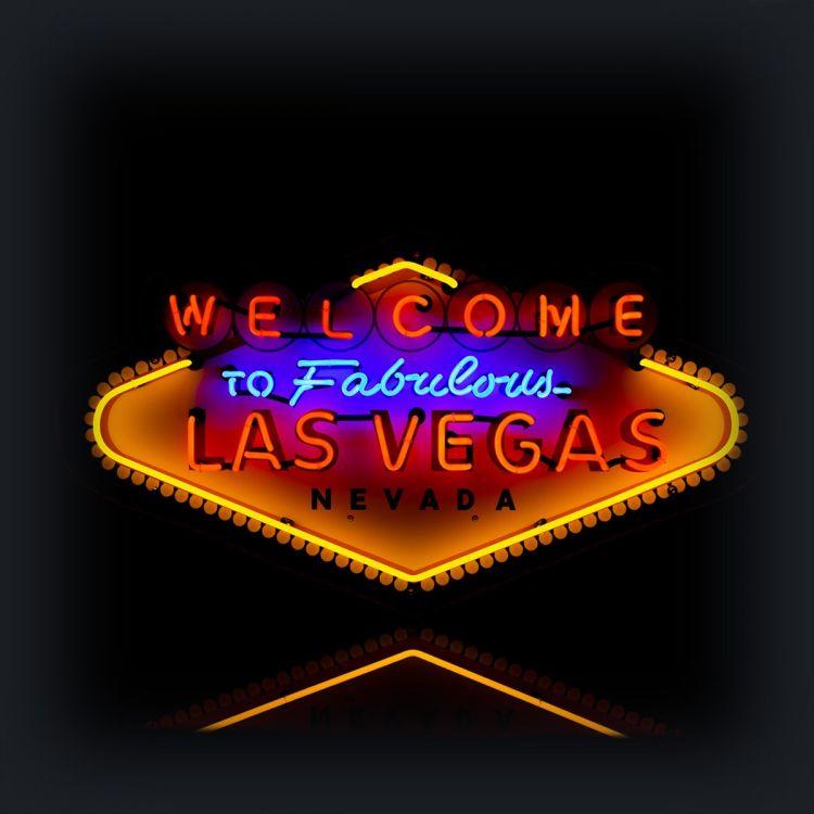 Neon - Welcome to Las Vegas XL
