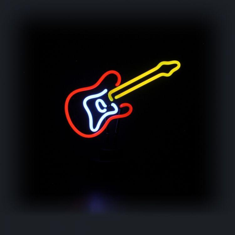 Neon Sculpture - Guitar