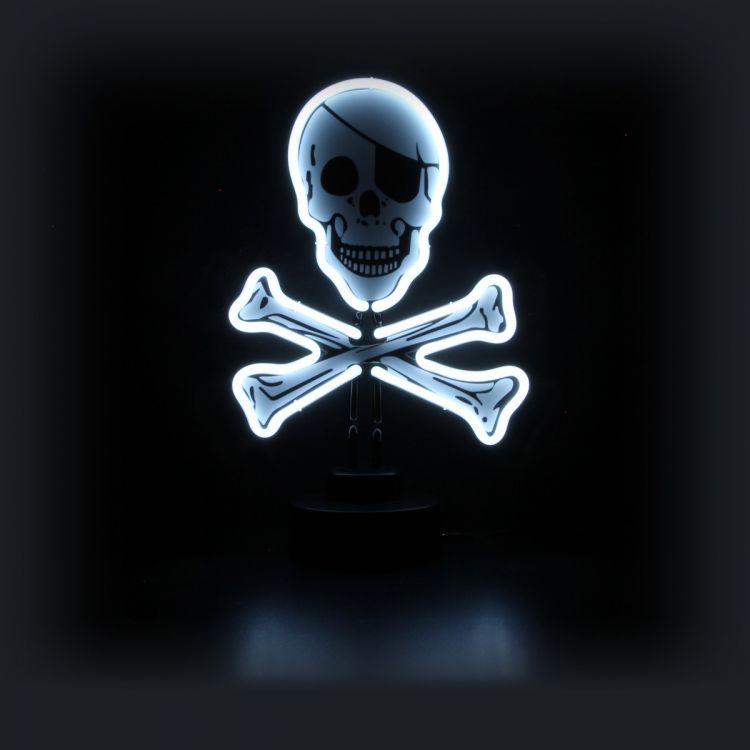Neon Sculpture - Skull